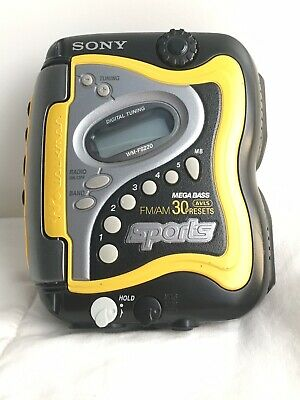 SONY SPORTS WALKMAN WM-FS220 Mega Bass Cassette Player