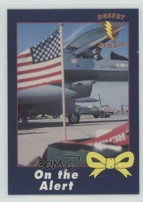 1991 AMA Desert Storm Yellow Ribbon #36 On the Alert Non-Sports Card 0d8