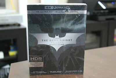The Dark Knight Trilogy Collection 4K Ultra HD Blu-ray brand new Sealed