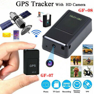 US Tracker Spy cam Mini GPS Real time Car Locator   Real Time SOS Climbing Find