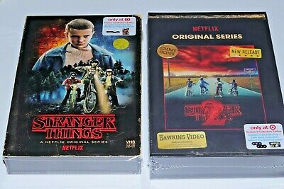 Stranger Things Season 1 & 2 Collector's Edition: Blu-ray + VHS Case NEW! TARGET