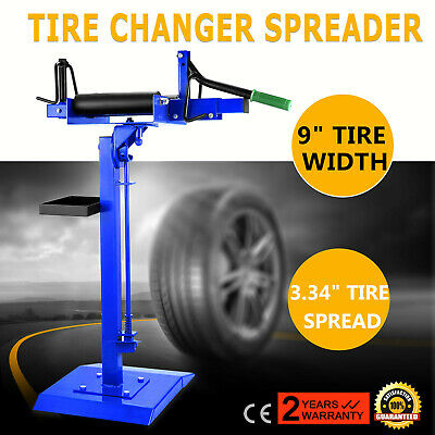 Tire Spreader Adjustable Swivel Tire Changer with Stand Repair Tires Tool