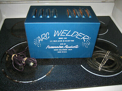 Vintage Arc Welder Model 900 MFG by Pacemaker Products North Hollywood Calif.