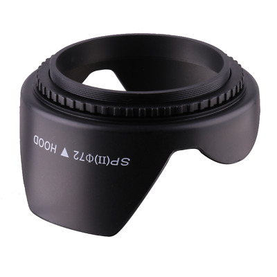 72mm Flower Crown Shape Petal Lens Hood for Canon Nikon Sony DSLR Camera