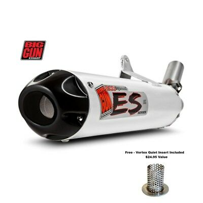 "Big Gun Exhaust Tuyau Silencieux Universel 17 /"" Dura-Pak Ballage Kit Eco Evo Exo"