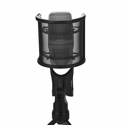 Mudder Record Studio Microphone Mic Windscreen Pop Filter with Double Layer D5C