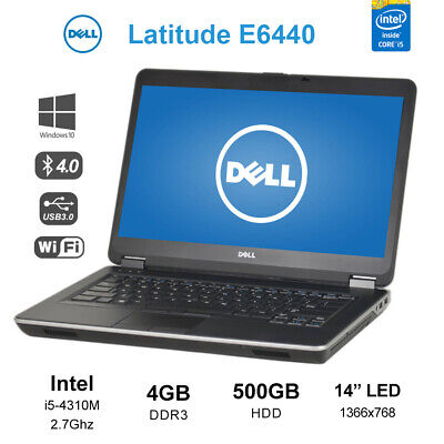 "Dell E7450 14"" i7-5600u 2.6GHz 16GB 256GB Dual Band WiFi Win10  Laptop Notebook"