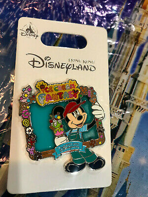 Hong Kong Disneyland Ice Cream Fantasy Mickey Mouse Pin~NEW in Hand~ 2019 HKDL