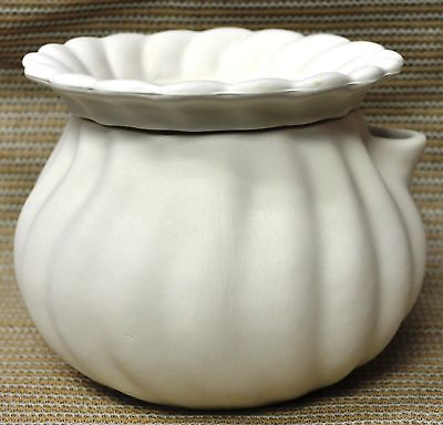 Ceramic Bisque Planter African Violet Pot Doc Holliday Mold 2498 Ready To Paint