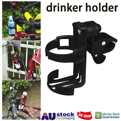 Baby Stroller Pram Cup Holder Universal Bottle Drink Water Coffee Bike Bag AU