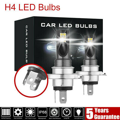 2X H4 200W 12000LM LED Car Headlight Fog Lights Conversion Globes Bulbs LD2005
