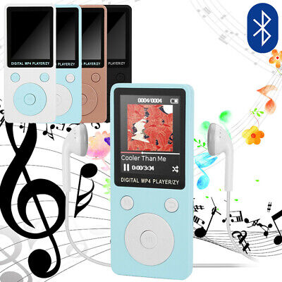 Portable Bluetooth 1.8inch LCD Screen FM Stereo Radio MP3 MP4 Player Speakers