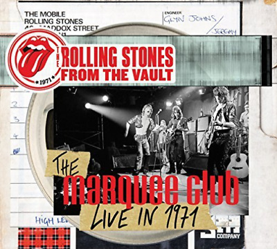 Rolling Stones-From The Vault: The Marquee Club Live In 1971 Dvd New