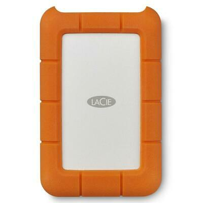 LaCie 5TB Portable External Hard Drive Rugged Laptop HDD PC MAC USB-C
