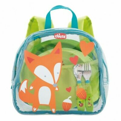 CHICCO First Backpack - zainetto con set pappa