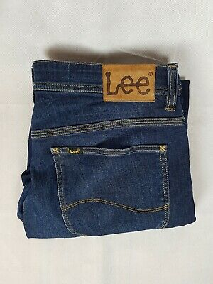 Lee Mens L3 Straight Jeans Button Fly Size W34 L28