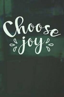 Choose Joy Quote Notebook for Scriptures (6x9 Personalized Bibl... 9781073773725