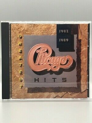 Greatest Hits 1982-1989 by Chicago (CD, 1989, Reprise) Very Good Condition