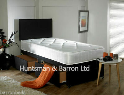 Single Divan Bed 3FT With Mattress With drawers Option kids & Childrens