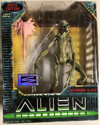 Alien Resurrection Newborn Movie Edition Facehugger 1997 Kenner Hasbro Signature