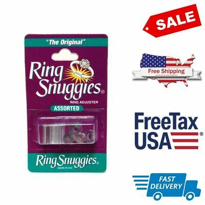 Ring Resizer Invisible Size Reducer Spacer Guard Adjuster Clear Plastic Sizers