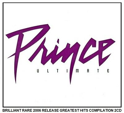 Prince Very Best Greatest Hits Collection RARE 2006 80's 90's Rock Pop 2CD