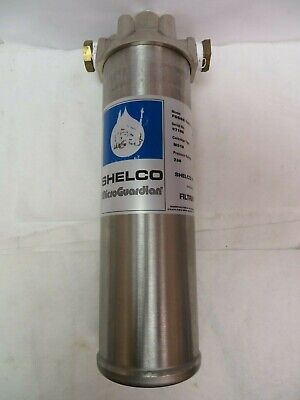 """Shelco Fosbn-786-10 Stainless Hydraulic Filter Housing Ms10 3/4"""" Npt 250 Psi"""