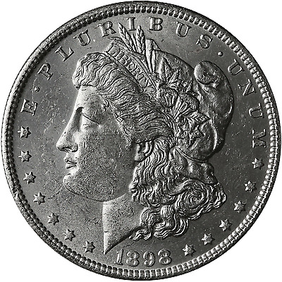 1898-O Morgan Silver Dollar Brilliant Uncirculated - BU