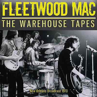 FLEETWOOD MAC w PETER GREEN New Sealed 2020 LIVE 1970 NEW ORLEANS CONCERT CD