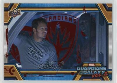 2017 Upper Deck Guardians of the Galaxy Volume 2 Red/49 #6 Dance Partner 0qd