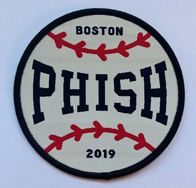 Phish baseball patch fenway park 2019 boston concerts pop up new
