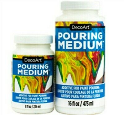 DecoArt Paint Pouring Medium - 8oz (236ml) or 16oz (473ml)