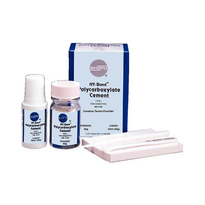 Shofu Dental 1160 Hy-Bond Polycarboxylate Luting Cement Package Kit