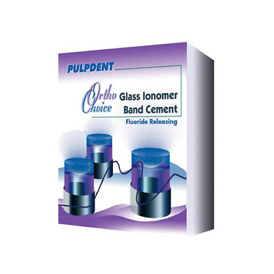 Pulpdent OCGI Ortho-Choice Glass Ionomer Band Cement Fluoride Releasing Kit