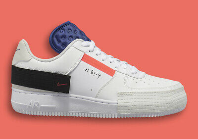 de58e62621bd3 Nike Air Force One 1 AF1-Type Low Drop Summit White Red Orbit White CI0054