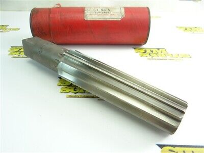 Super Nice! Cleveland Hss Straight Shank Finishing Reamer #5