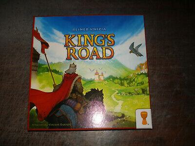 King's Road Reiner Knizia Strategy Board Game