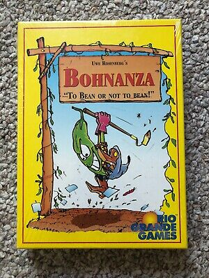 New Bohnanza Group Strategy Card Board Game by Rio Grande Games (Free Shipping)
