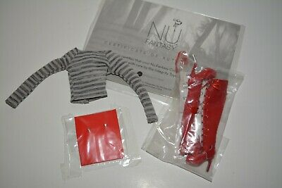 Fashion Royalty FR doll NuFace Nu Fantasy Rayna Go Home Dorothy BOOTS Top + lot*