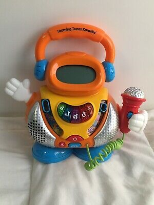 Vtech Learning Tunes Karaoke Sing Along w/ Microphone ABC's 123's Childrens Toy