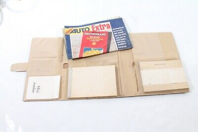 Old Folder Document Kit Classic Car Shell Map Mini Merker Old Vintage
