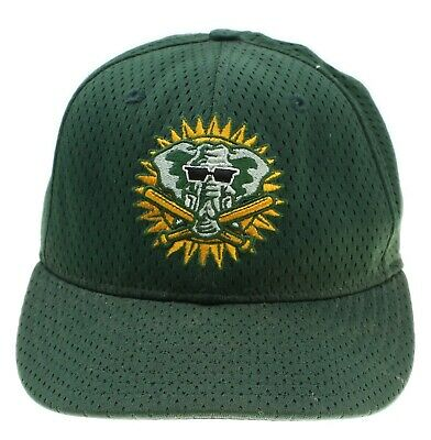 VTG NEW ERA Oakland As Athletics MLB Baseball Elephant Mascot Fitted Hat 7 3/8