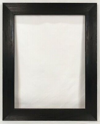 Antique Early 20th C Arts Crafts Mission Fumed Oak Frame 12 3/4 x 16 3/4 Opening