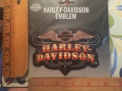 "Harley-Davidson Classic Bar And Shield Emblem Badge Patch 5"" X 3"""