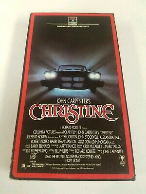 Christine Beta Betamax Horror John Carpenter STEPHEN KING NOT VHS 1958 FURY