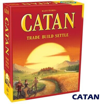 Board Gmae:New Settlers of Catan Party School Holiday Game- Home Gift - original