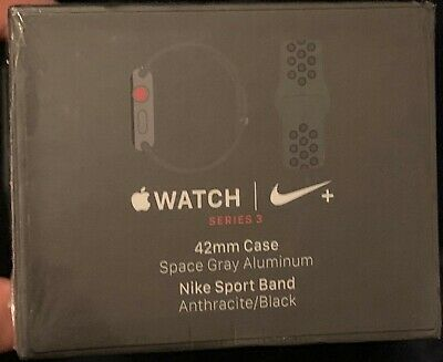Apple Watch Nike+ 42mm Space Gray Aluminium Case Anthracite/Black Nike CELLULAR