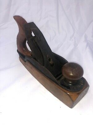 "Antique Bailey Transitional Hand Plane, ""10 Plane, Razee Style, Wood Sole #35"