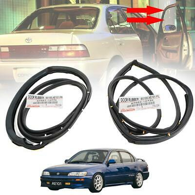 FOR Toyota Corolla E100 AE100 AE101 EE100 GENUINE 1991–95 DOOR SEAL WEATHERSTRIP