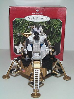 Nasa Apollo Lunar Module Moon Landing Display Model Mib